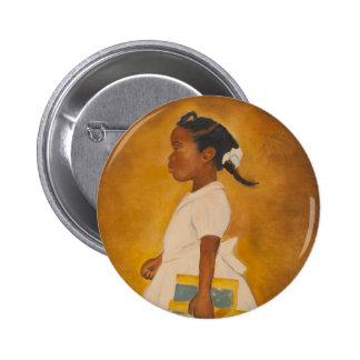 Belas artes do afro-americano bóton redondo 5.08cm