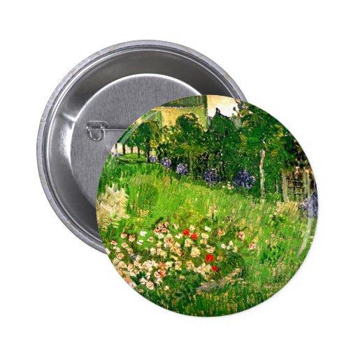 Belas artes do jardim de Van Gogh Daubigny (F765) Botons