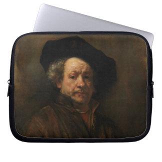 Belas artes do retrato de auto de Rembrandt Van Capa Para Computador