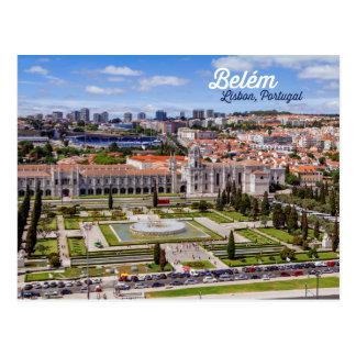 Belém, Lisboa, Portugal Cartão Postal