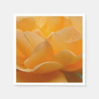 Beleza de um rosa guardanapo de papel