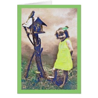 Beleza descalça do cartão do dia de St Patrick do