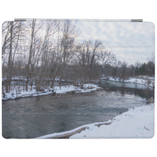 Beleza James River da neve Capa Smart Para iPad