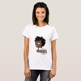 Beleza negra feminina camiseta