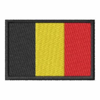 Bélgica Camiseta Bordada Polo
