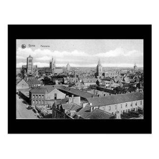 Bélgica, Ypres - cartão velho