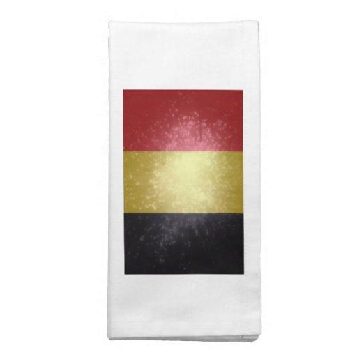 België; Bandeira de Bélgica Guardanapo De Pano