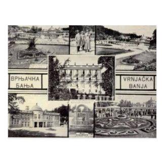Belgrado, Serbia, cartão do multiview, C. 1950
