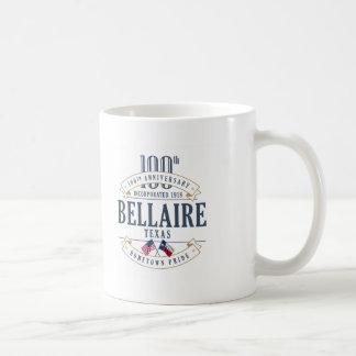 Bellaire, caneca do aniversário de Texas 100th