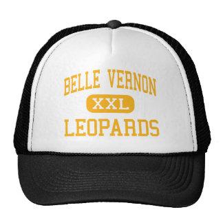 Belle Vernon - leopardos - área - Belle Vernon Bonés