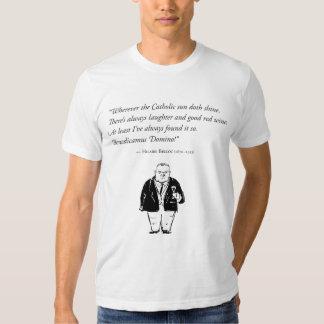 Belloc no vinho (parte dianteira) t-shirts