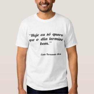 Bem do termine do diâmetro do que o de quero do só camiseta
