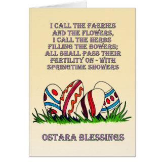 Bênçãos de Ostara: Cartão