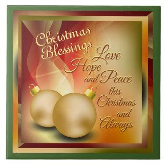 Bênçãos do Natal, paz da esperança do amor