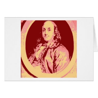 Benjamin Franklin Cartões