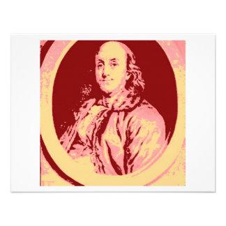 Benjamin Franklin Convite
