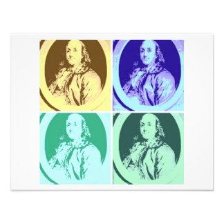 Benjamin Franklin Convites