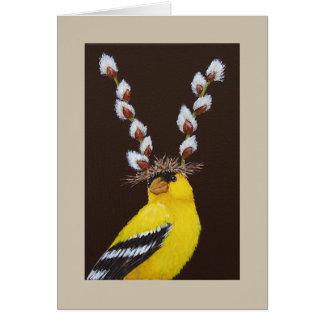 Benny o cartão do goldfinch