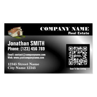 Bens imobiliários - cartão de visita - código bran