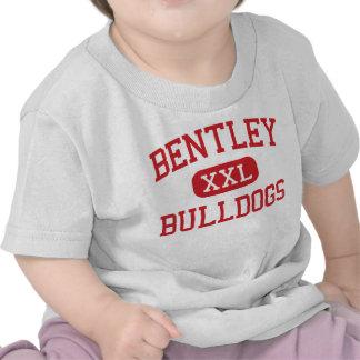 Bentley - buldogues - meio - Burton Michigan Camisetas