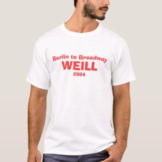 Berlim à camisa do molde de Broadway Tshirts