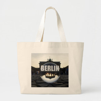 BERLIM Brandenburger baliza, Brandenburgo Gate sun Sacola Tote Jumbo