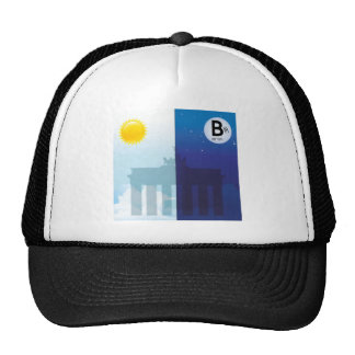 Berlim com dia e noitada - Brandenburger baliza Boné