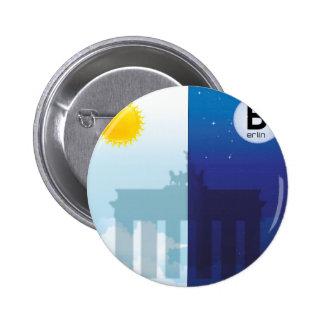 Berlim com dia e noitada - Brandenburger baliza Botons
