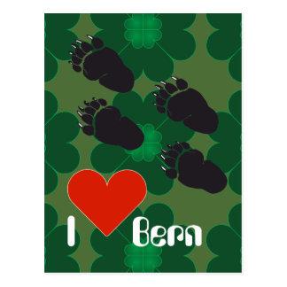 Berna de Berna De Berna Bärn Suíça Suisse cartão
