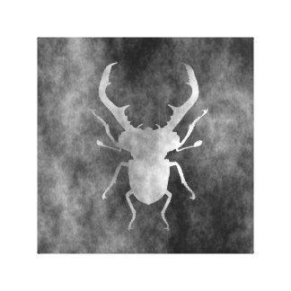 besouro de veado impressão em tela