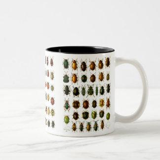 Besouros Caneca De Café Em Dois Tons