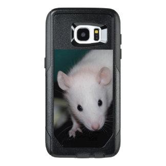BEW - Capa de telefone branca de olhos pretos do