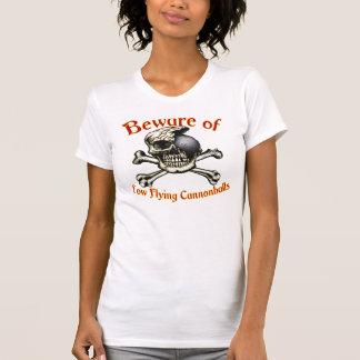 Beware a colher ocasional das senhoras das balas t-shirt