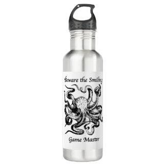 Beware a garrafa de água de sorriso do mestre de