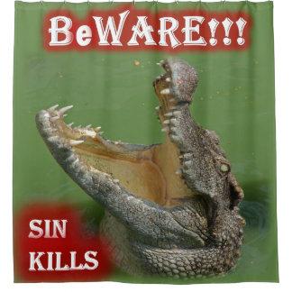 Beware!!! Cortina Para Chuveiro