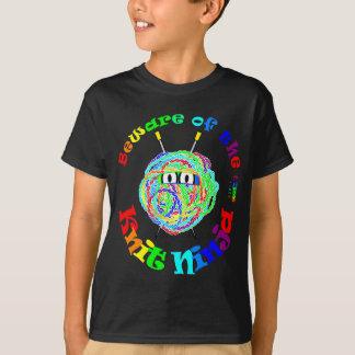 Beware da malha Ninja Camiseta