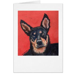 Beware de Sid, um cartão de um animal de estimação