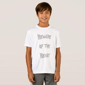 Beware do jérsei da prática do animal camiseta