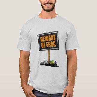Beware do sapo camiseta