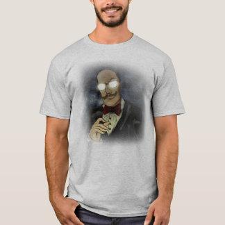 Beware do t-shirt do logotipo do Ghosted dos Camiseta