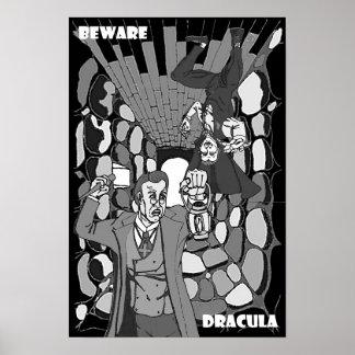 Beware o poster de Dracula
