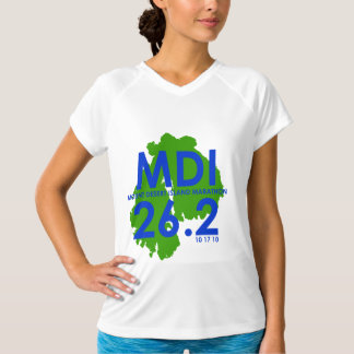 BFL - Maratona da ilha de deserto da montagem Camiseta