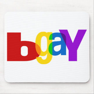 bGay Mouse Pad