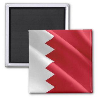 BH - Barém - ondulação da bandeira Ímã Quadrado