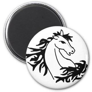 BH design impressionante da arte do cavalo Imãs