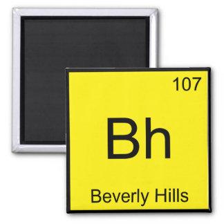 BH - Símbolo do elemento da química de Beverly Hil Ima