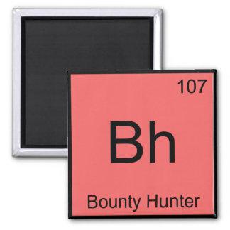 BH - T do símbolo do elemento da química do caçado Imã