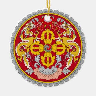 BHUTAN*- enfeites de natal do costume