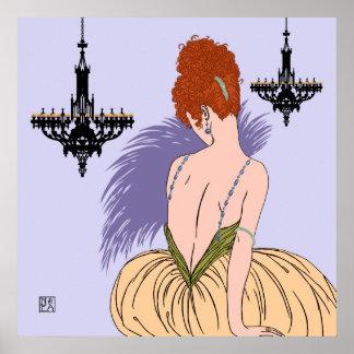 Bianca no Lilac - impressões/posters
