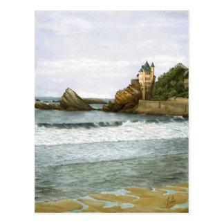 Biarritz. Cartão